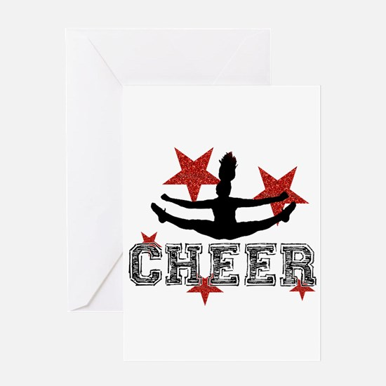 Cheerleader Greeting Cards