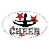 Cheerleading Stickers & Flair