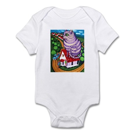 Cat on a Red Tin Roof Infant Bodysuit
