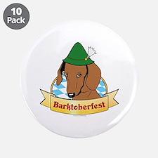"Barktoberfest 3.5"" Button (10 pack)"