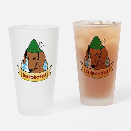 Barktoberfest Drinking Glass