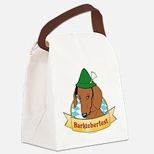 Barktoberfest Canvas Lunch Bag