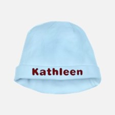 Kathleen Santa Fur baby hat
