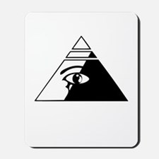 Eye of the pyramid Mousepad