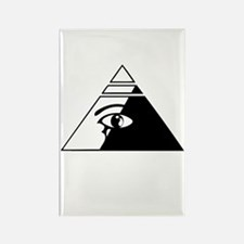 Eye of the pyramid Rectangle Magnet