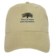 WISDOM GREATER THAN KINDNESS Baseball Baseball Cap