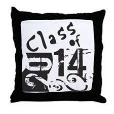 CLASS OF 2014 Throw Pillow
