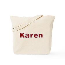 Karen Santa Fur Tote Bag