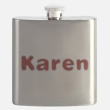 Karen Santa Fur Flask