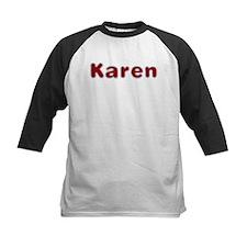 Karen Santa Fur Baseball Jersey