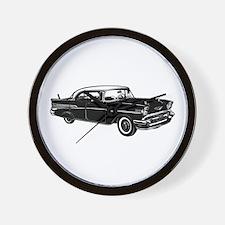 Classic 57 Street Rod Wall Clock