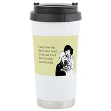 Mother's Favorite Child Travel Mug