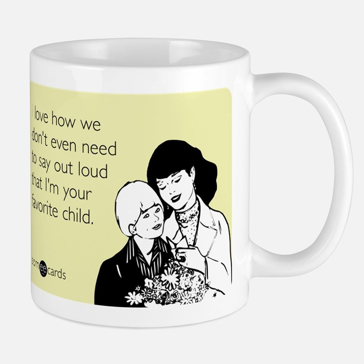 Mother's Favorite Child Small Small Mug