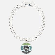 Elegant Modern Monogram Bracelet