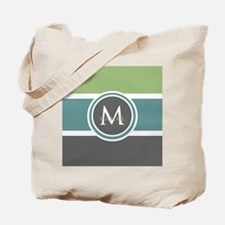 Elegant Modern Monogram Tote Bag