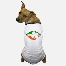 Irish Lips Dog T-Shirt