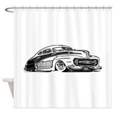 50s LowRider Rod Shower Curtain