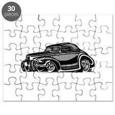 Thirties Hot Rod Coupe Puzzle