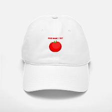 Custom Red Tomato Baseball Baseball Cap