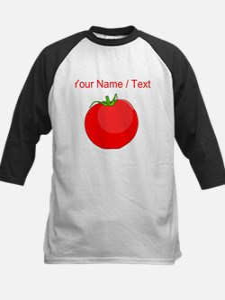 Custom Red Tomato Baseball Jersey