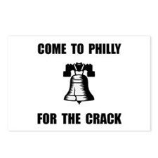 Philly Crack Postcards (Package of 8)