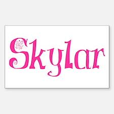 Skylar Rectangle Decal