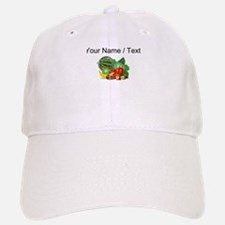 Custom Fruits And Vegetables Baseball Baseball Cap