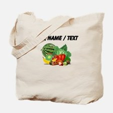 Custom Fruits And Vegetables Tote Bag
