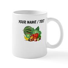 Custom Fruits And Vegetables Mugs