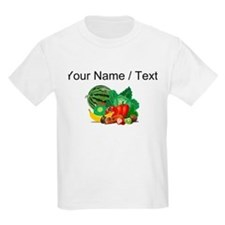 Custom Fruits And Vegetables T-Shirt