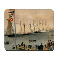 New York Yacht Club Regatta Mousepad