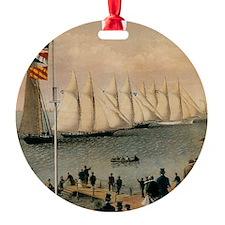 New York Yacht Club Regatta Ornament