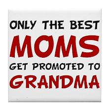 Promoted Grandma Tile Coaster