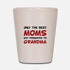 Promoted Grandma Shot Glass