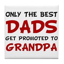 Promoted Grandpa Tile Coaster
