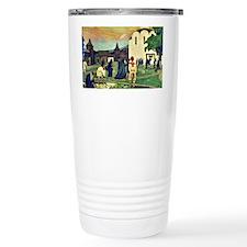 Boris Kustodiev - In the Monast Travel Mug