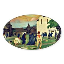 Boris Kustodiev - In the Monastery Decal