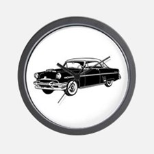 Classic Merc Automobile Wall Clock