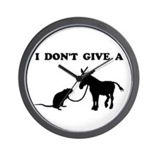 Rats Ass Wall Clock