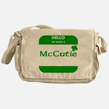 My Name Is McCutie Messenger Bag