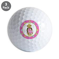 Princess Monkey Golf Ball