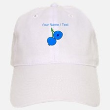 Custom Blueberries Baseball Baseball Cap