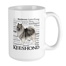 Keeshond Traits Mugs