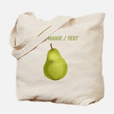 Custom Pear Tote Bag