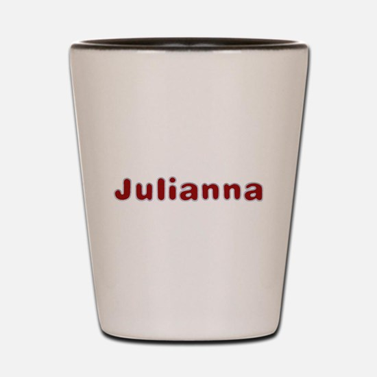 Julianna Santa Fur Shot Glass