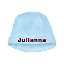 Julianna Santa Fur baby hat