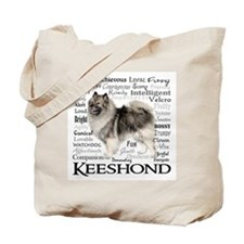 Keeshond Traits Tote Bag
