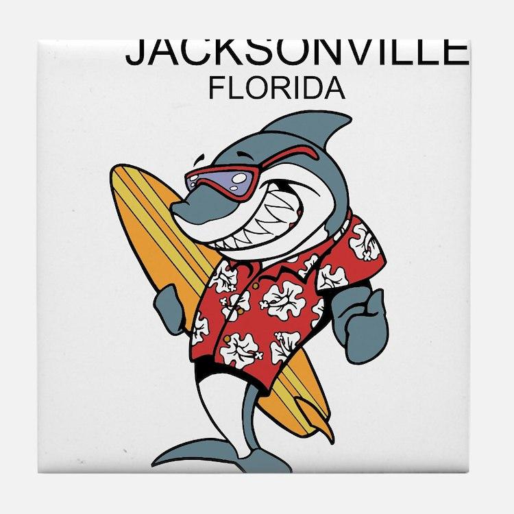 Jacksonville, Florida Tile Coaster