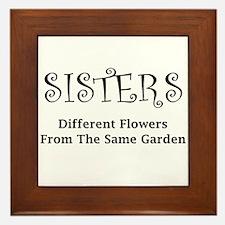 Sisters Garden Framed Tile