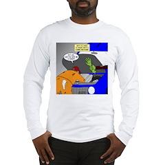 Zombie Mechanic Jokes Long Sleeve T-Shirt
